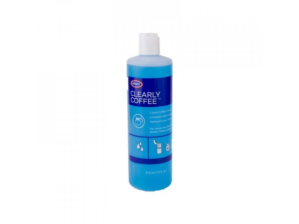 Urnex Clearly Coffee tekutý čisticí přípravek 414 ml