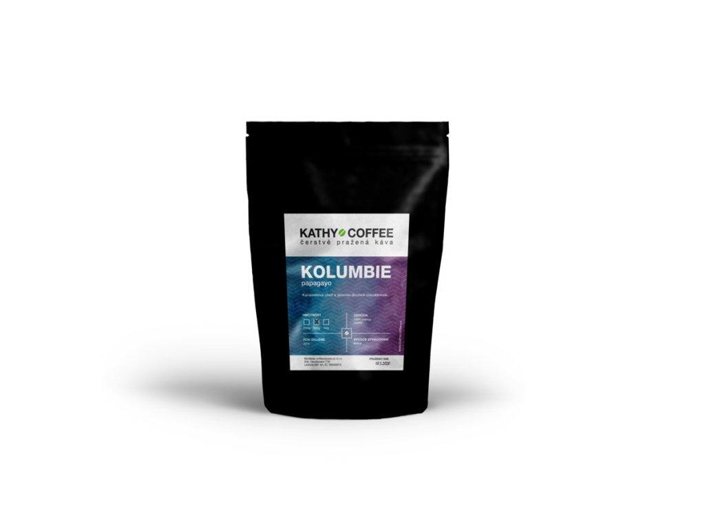 Káva Kolumbie papagayo