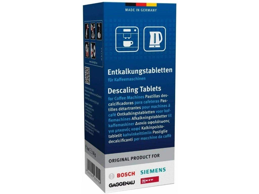 Bosch / Siemens TCZ6002 odvápňovací tablety 6 ks