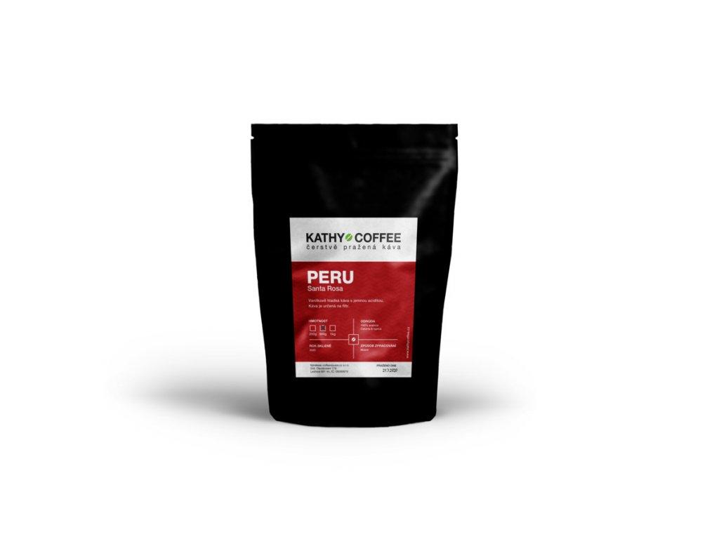 Káva Peru Santa Rosa
