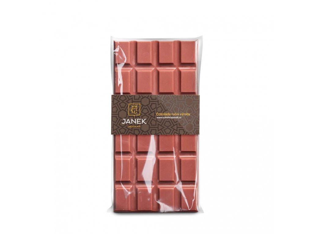 Ruby čokoláda 48%, Čokoládovna Janek - 85g