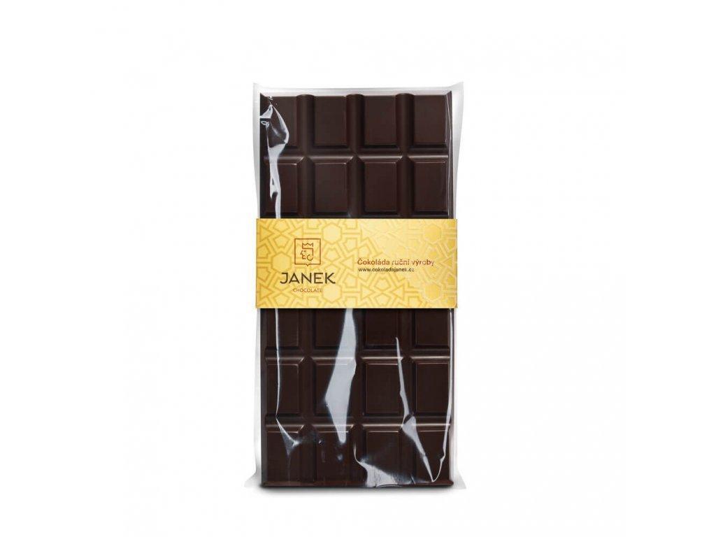 Hořká čokoláda 64%, Čokoládovna Janek - 85 g
