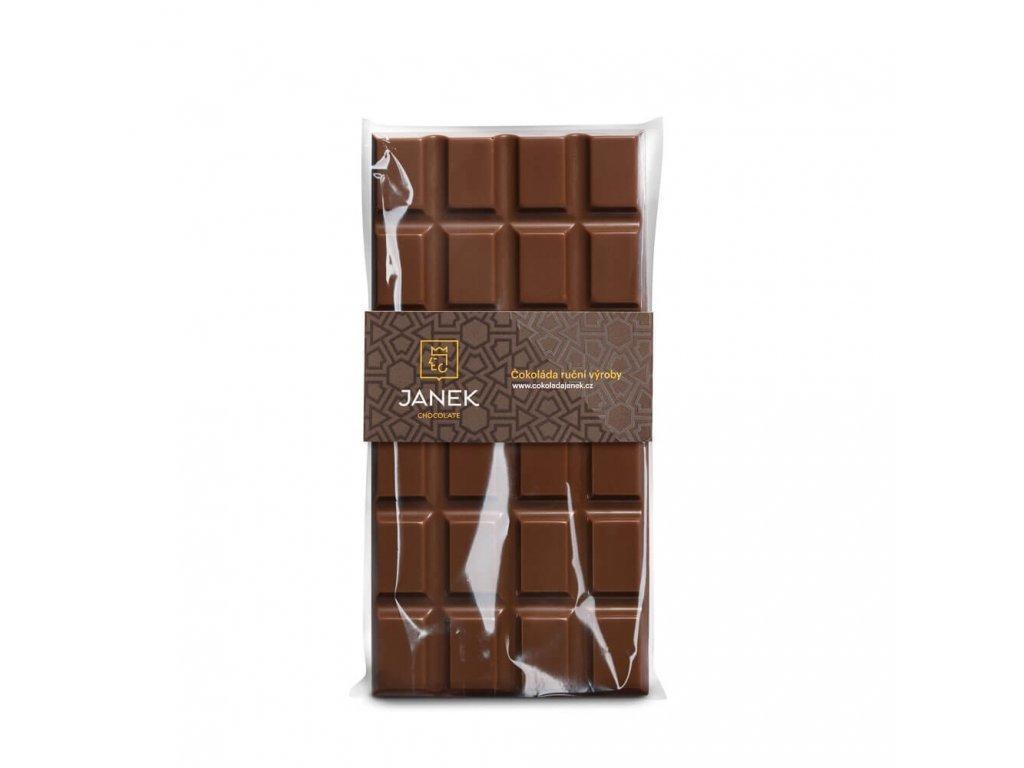 Mléčná čokoláda 34%, Čokoládovna Janek - 85 g