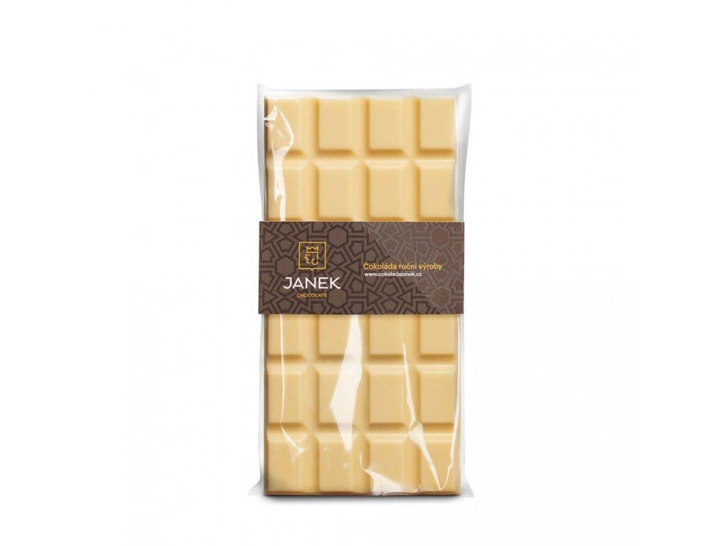 Bílá čokoláda 31%, Čokoládovna Janek - 85 g