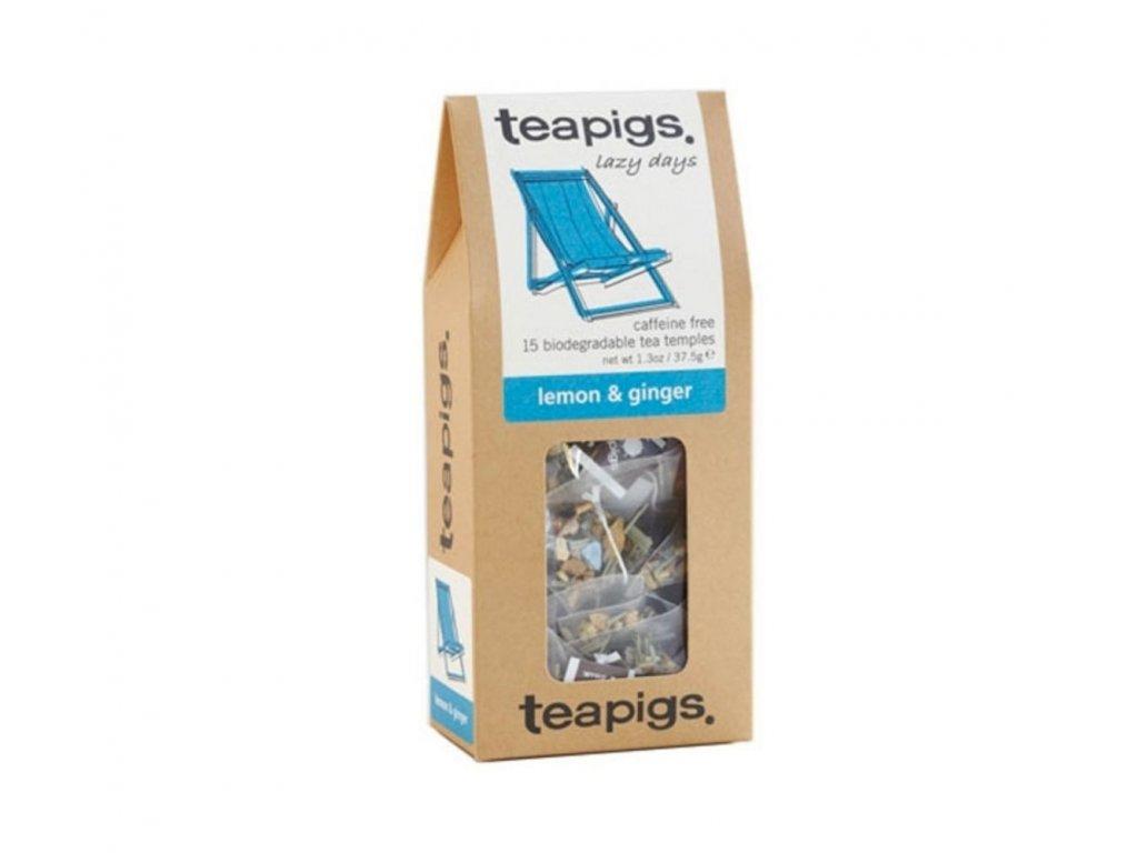 Čaj teapigs Citrón a zázvor - 15 ks