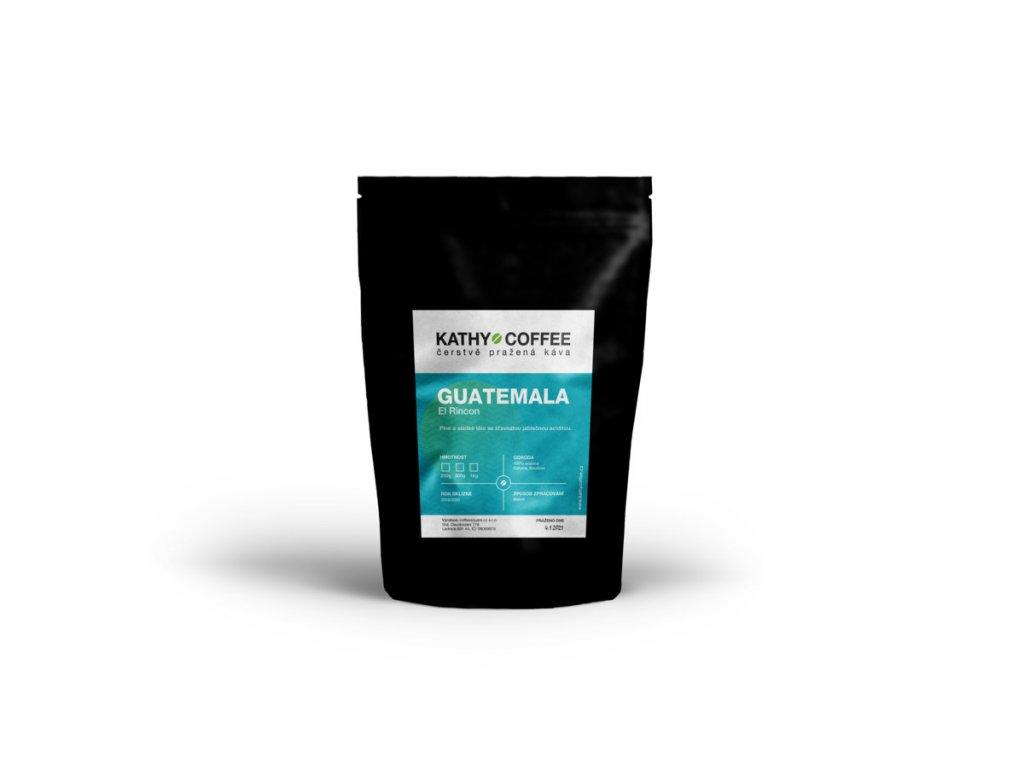 Káva Guatemala El Rincon