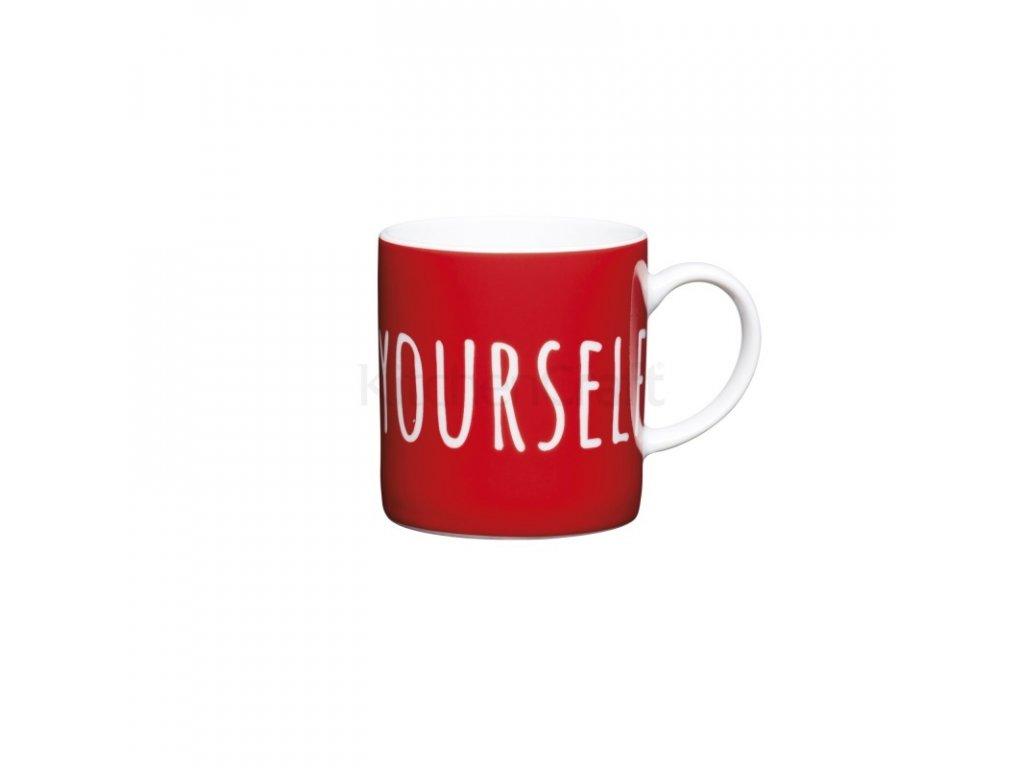 Šálek na espresso Kitchen Craft Porcelain - Espresso Yourself