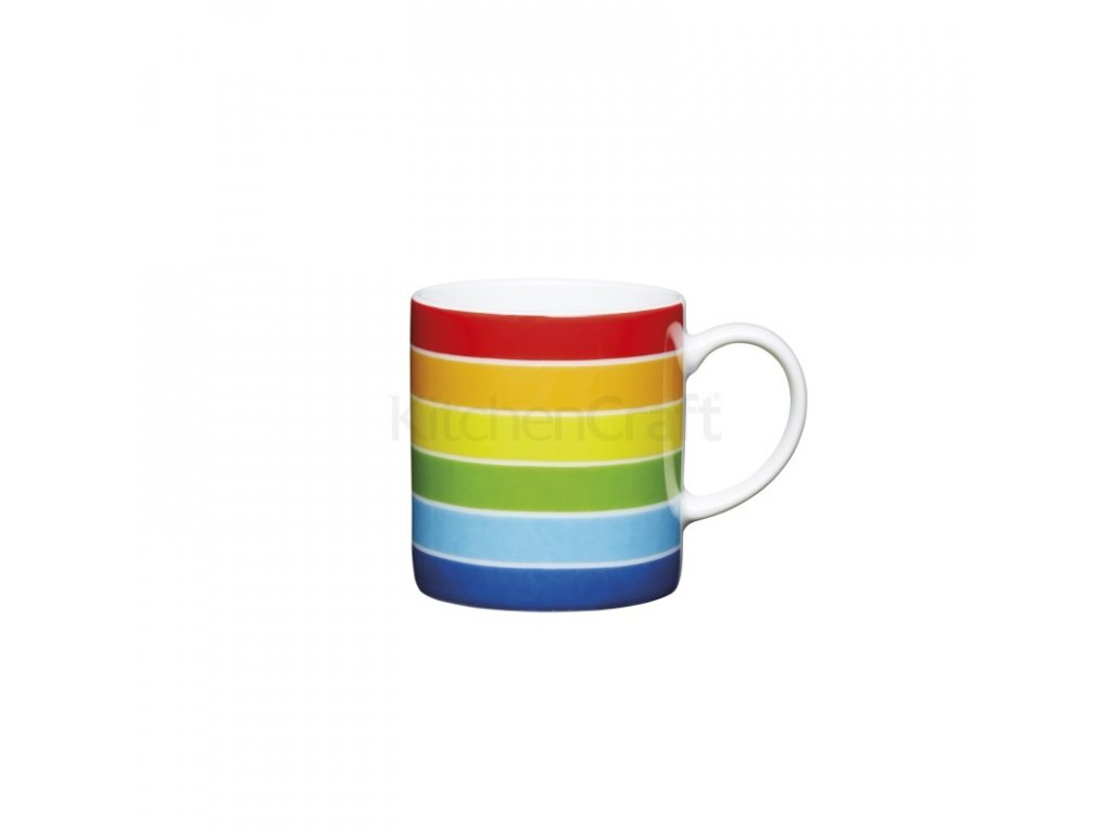 Šálek na espresso Kitchen Craft Porcelain - Rainbow