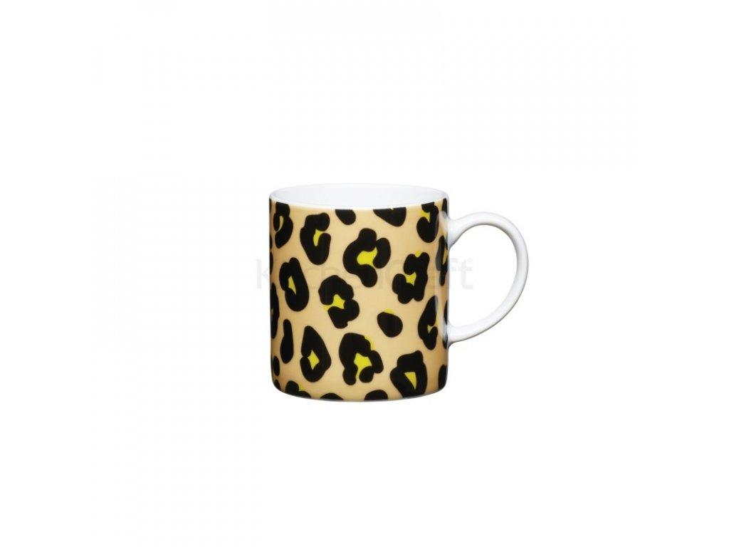 Šálek na espresso Kitchen Craft Porcelain - Leopard