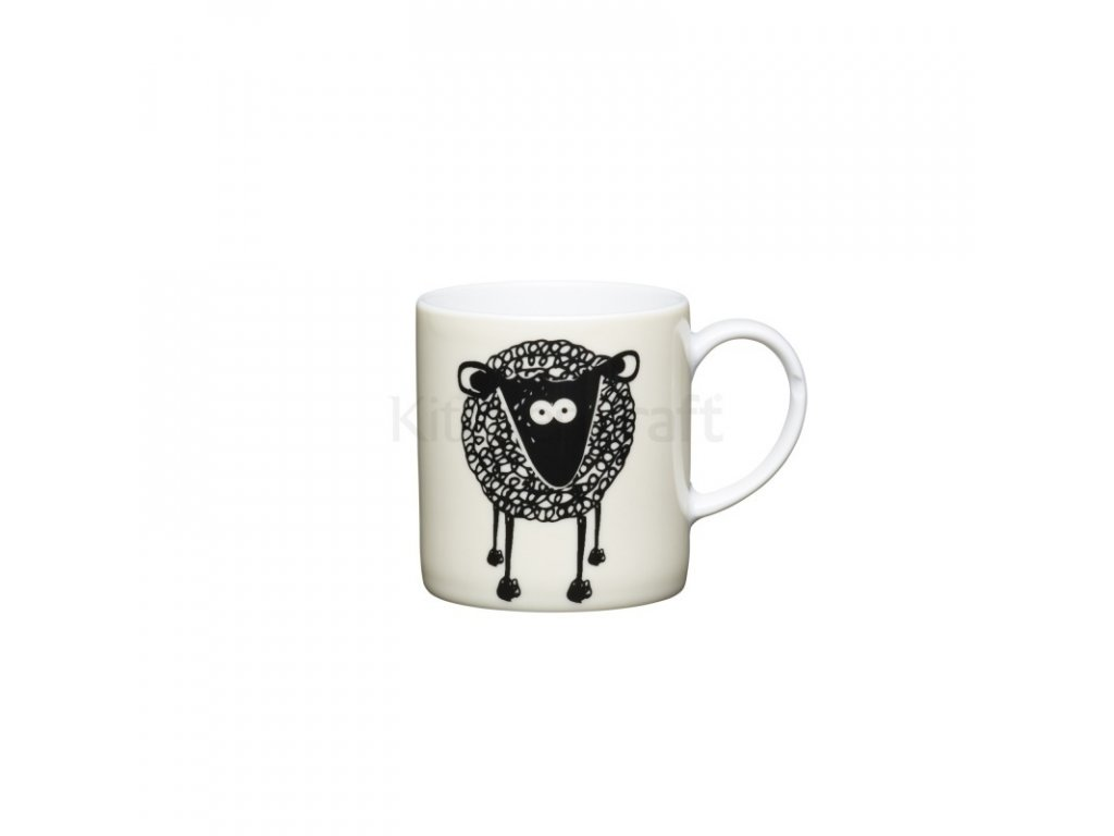 Šálek na espresso Kitchen Craft Porcelain - Sheep