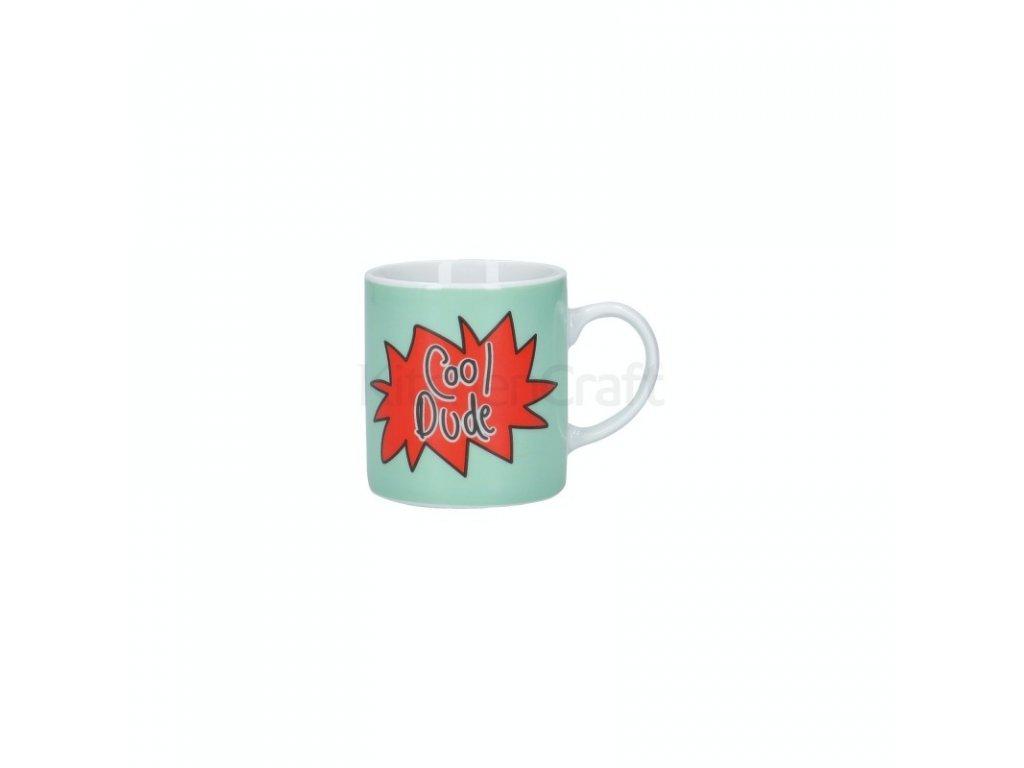 Šálek na espresso Kitchen Craft Porcelain - Cool Dude