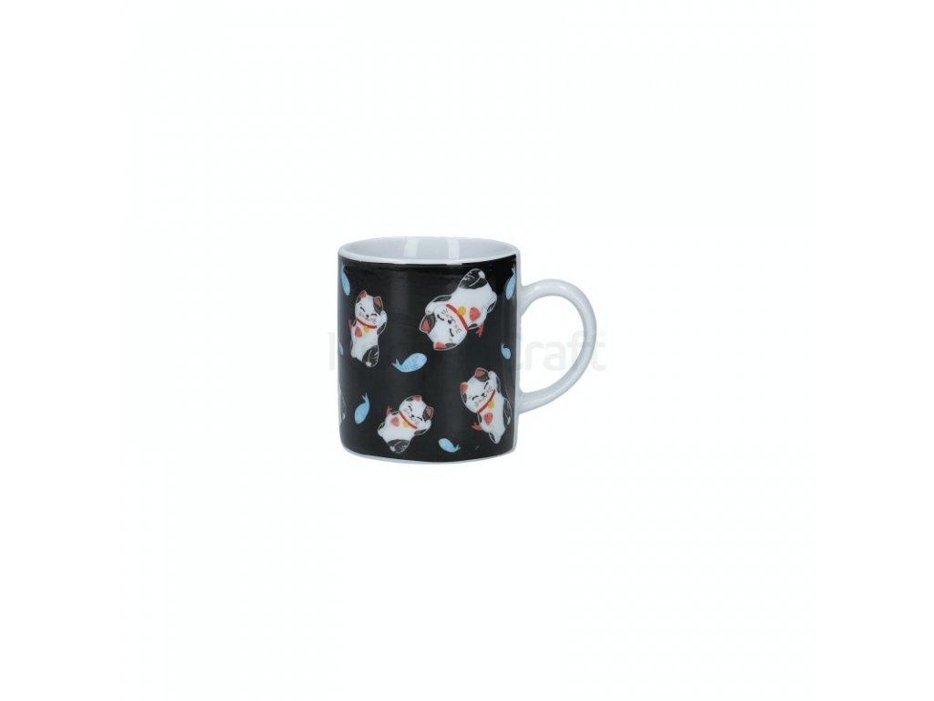 Šálek na espresso Kitchen Craft Porcelain - Lucky Cat