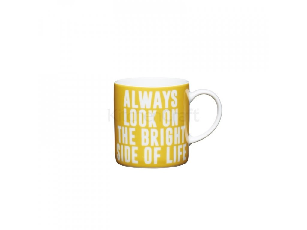 Šálek na espresso Kitchen Craft Porcelain - Always Look