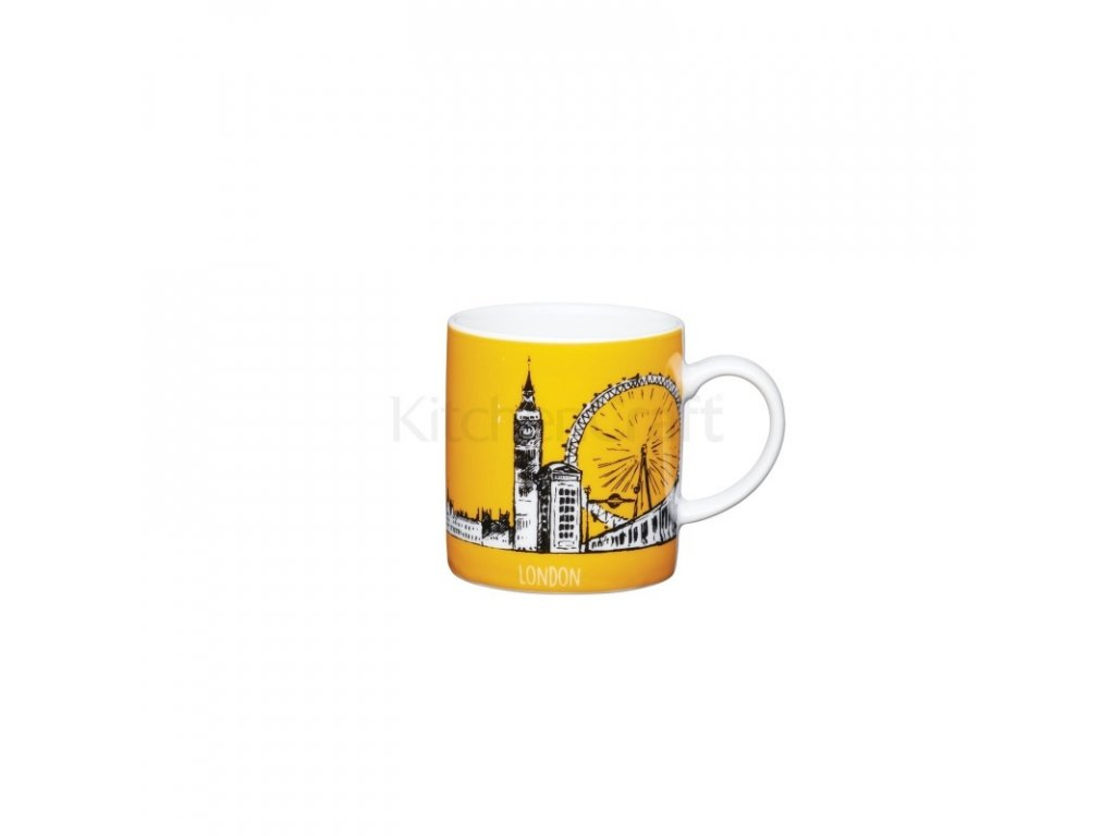 Šálek na espresso Kitchen Craft Porcelain - London