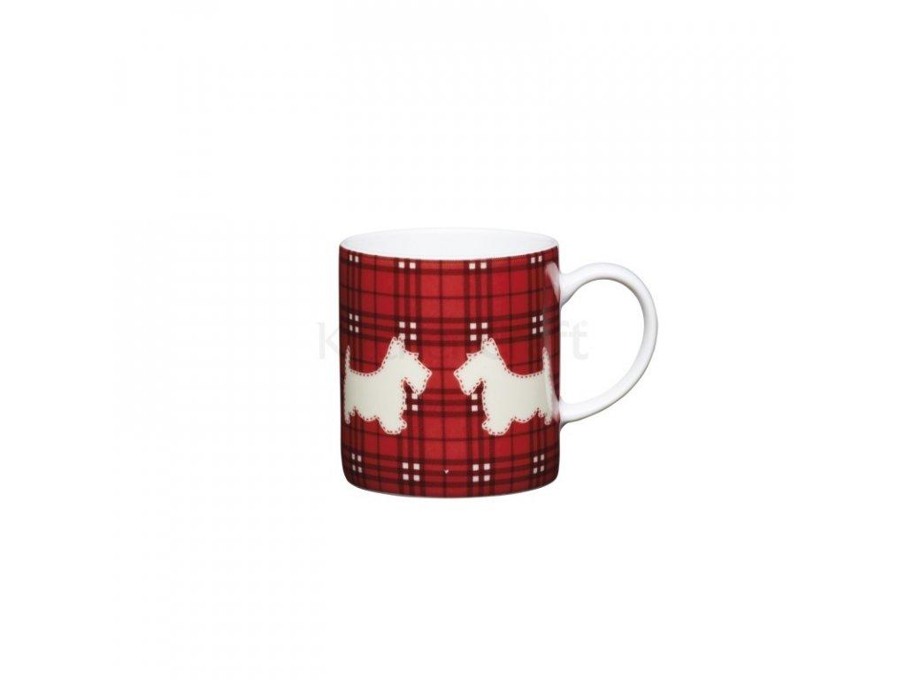 Šálek na espresso Kitchen Craft Porcelain - Scottie Dog