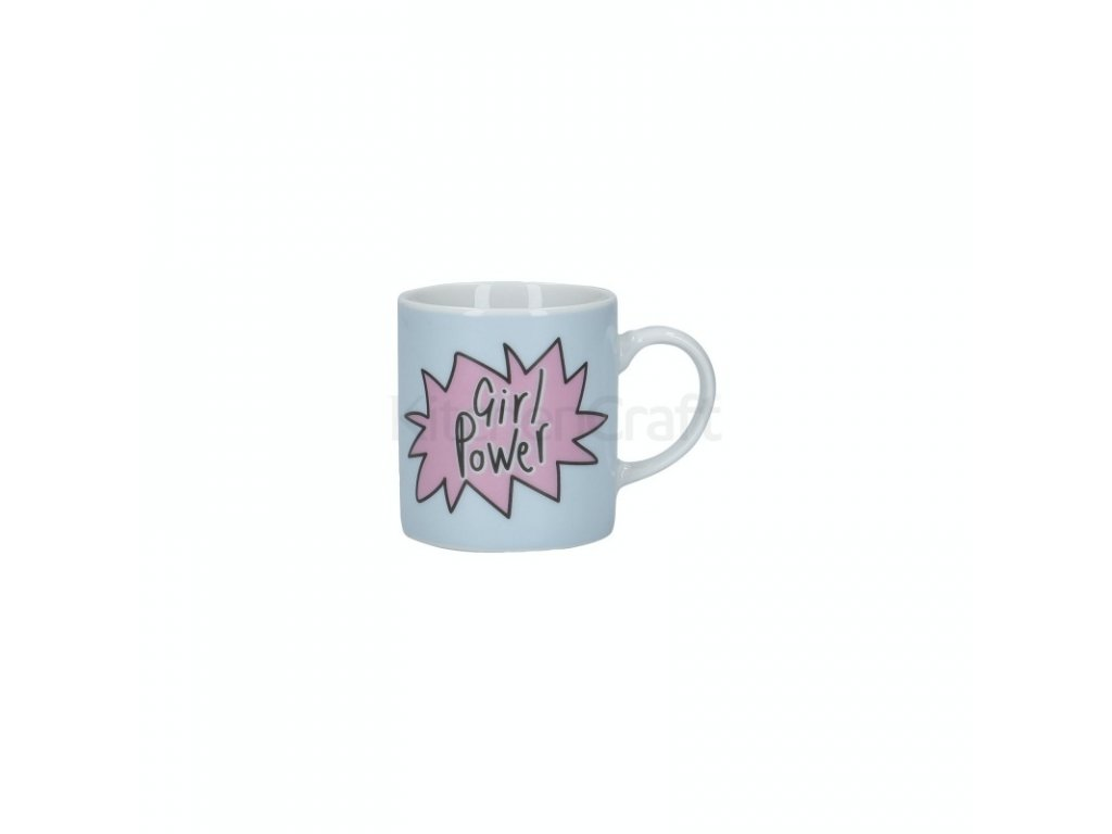 Šálek na espresso Kitchen Craft Porcelain - Girl Power