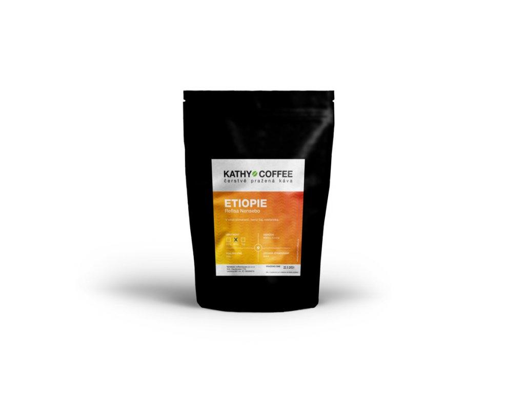 Káva Etiopie Refisa Nensebo
