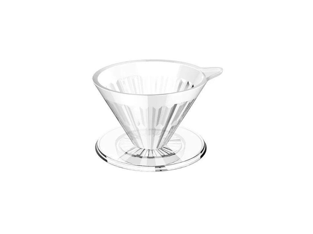 Timemore Crystal Eye plastový dripper 01 čirý