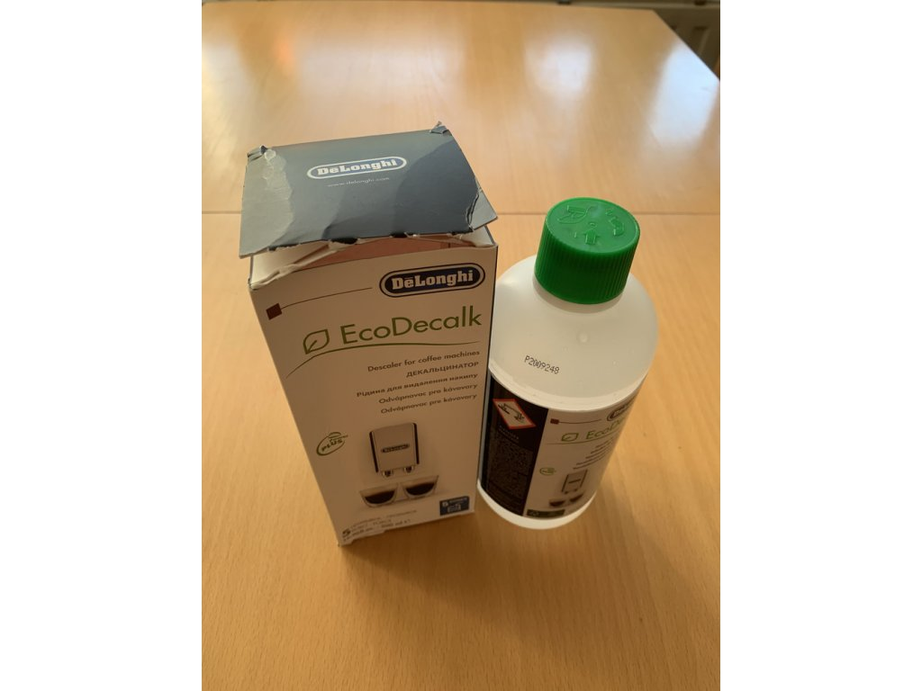 Odvápňovač EcoDecalk DeLonghi - 5 cyklů (poškozený obal)