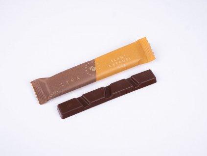 Tyčinka - slaný karamel/mléčná čokoláda