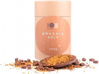 Lyra mandala tubus čokoláda se slaným karamelem 200g
