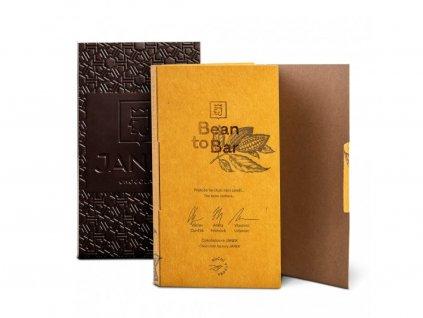 90% Bean to bar hořká čokoláda, Peru, Čokoládovna Janek - 45g