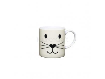 Šálek na espresso Kitchen Craft Porcelain - Cat Face