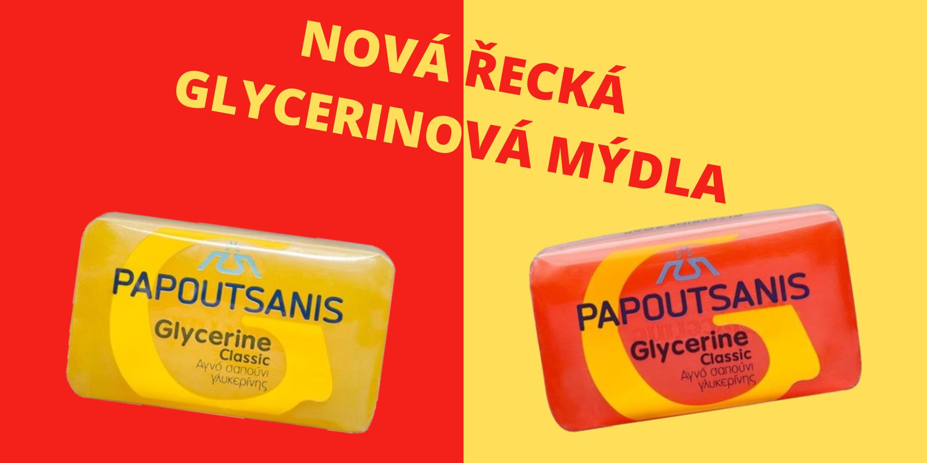 Řecká glycerinová mýdla