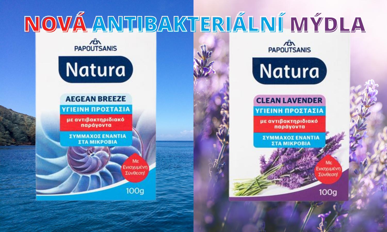 Antibakteriální mýdla NATURA