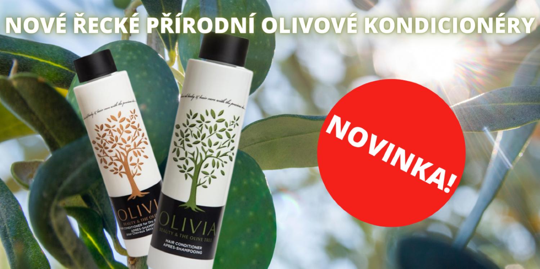 Nové řecké přírodní olivové kondicionéry