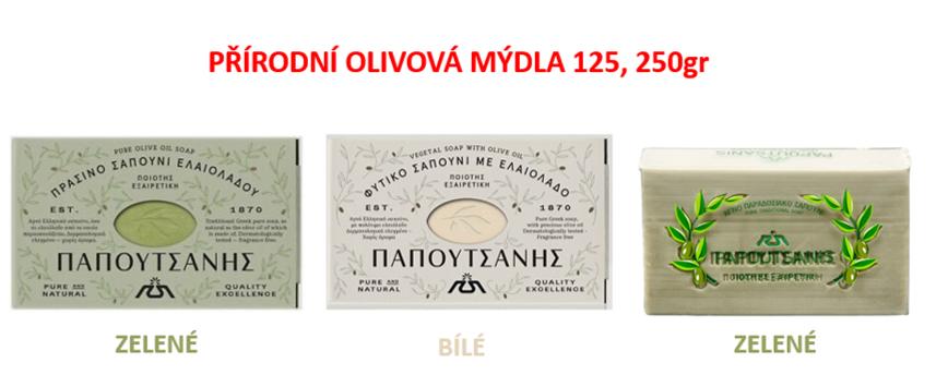 prirodni olivova mydla