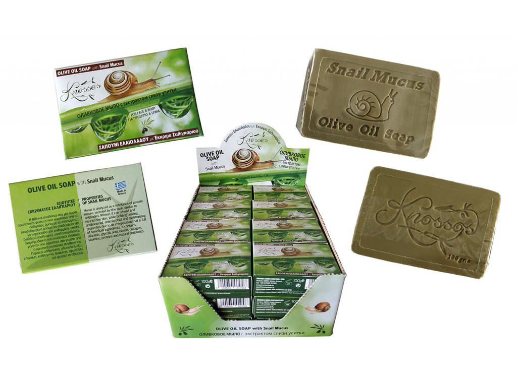 9. Olive Oil Soap with Snail Mucus 100g