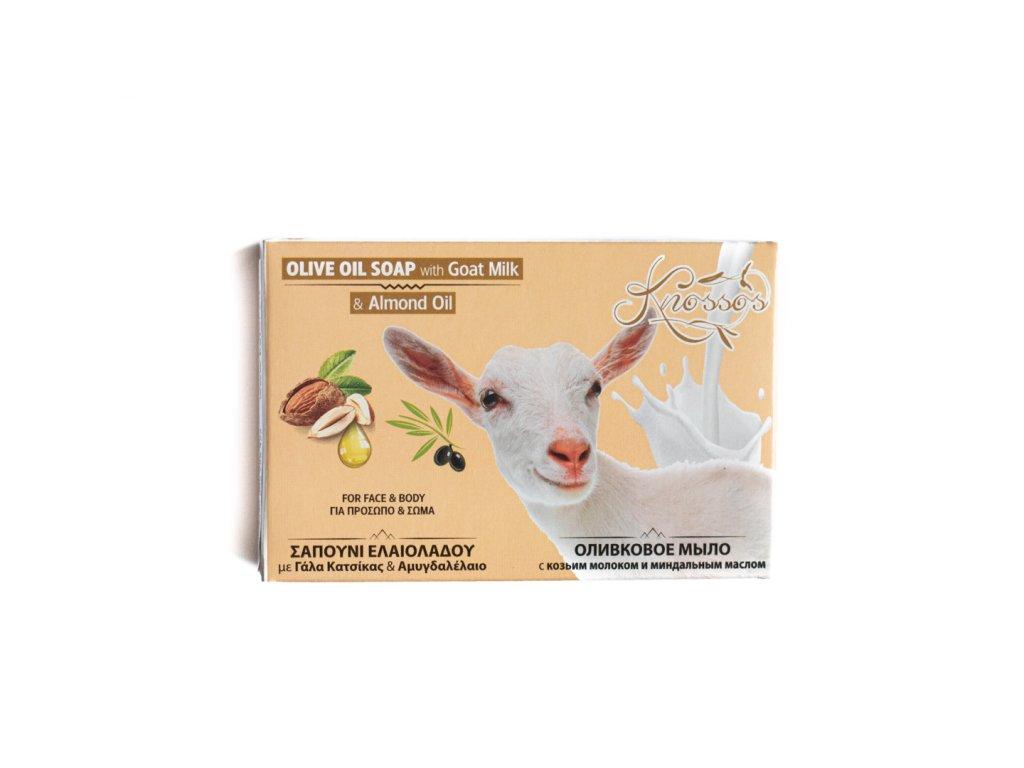 Aromatické olivové mýdlo s mandlovým olejem