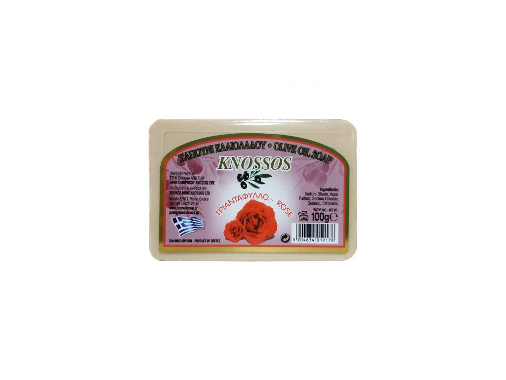 2. Olive Oil Soap Rose 100g (1)