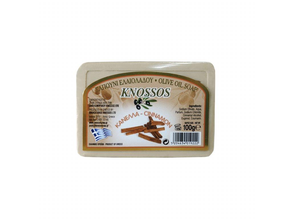 2. Olive Oil Soap Cinnamon 100g