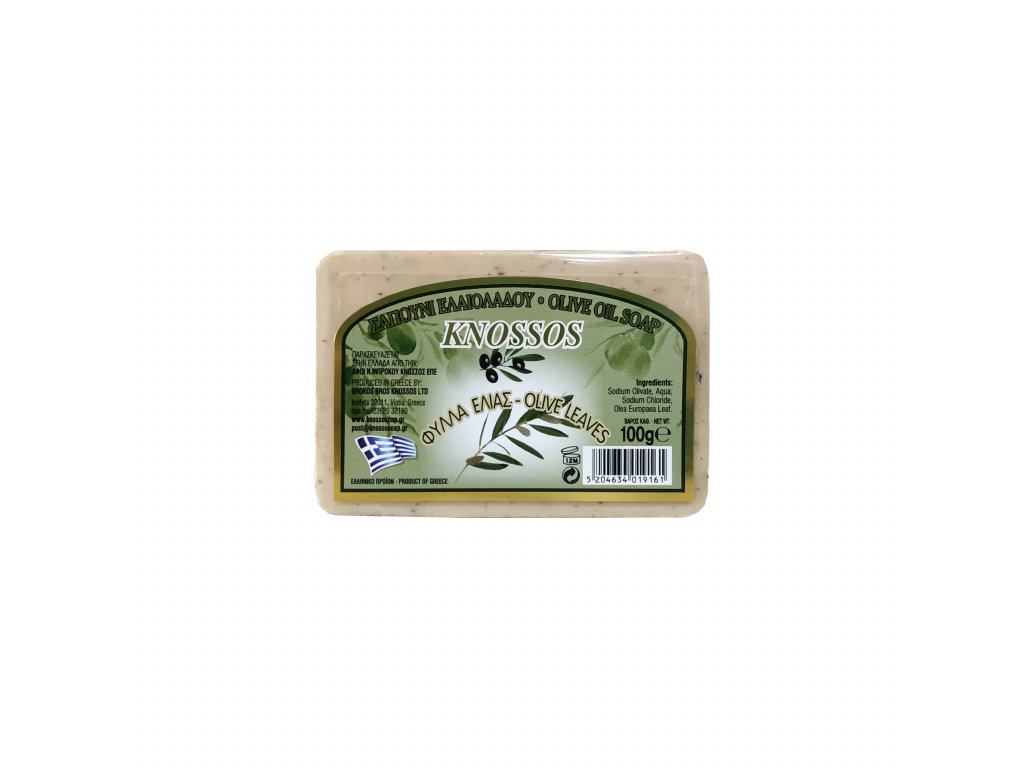 1. Olive Oil Soap with Olive Leaves 100g