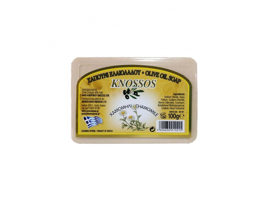 Olive oil soap chamomile 100g (1)