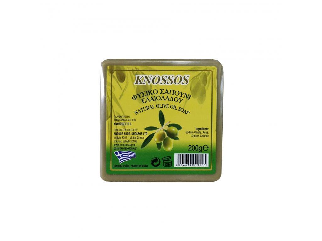 1. Olive Oil Soap Natural Green 200g (1)