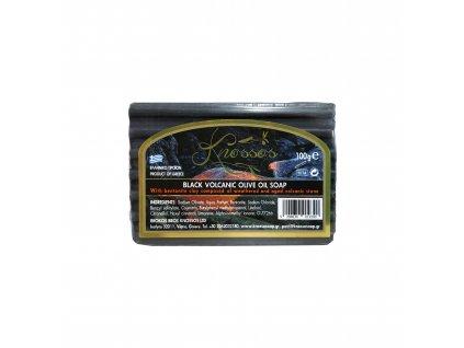 6. Olive Oil Soap Black Volcanic with Bentonite 100g