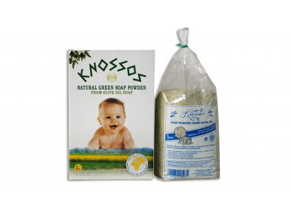 10. Olive Oil Soap Powder Green 1kg