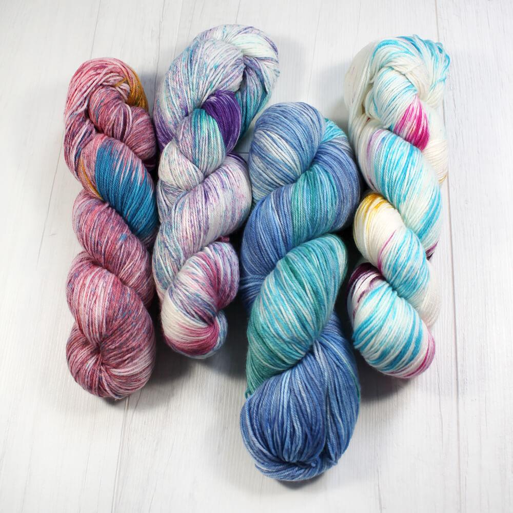 RELLANA Flotte Socke 4-fach Farbklexx