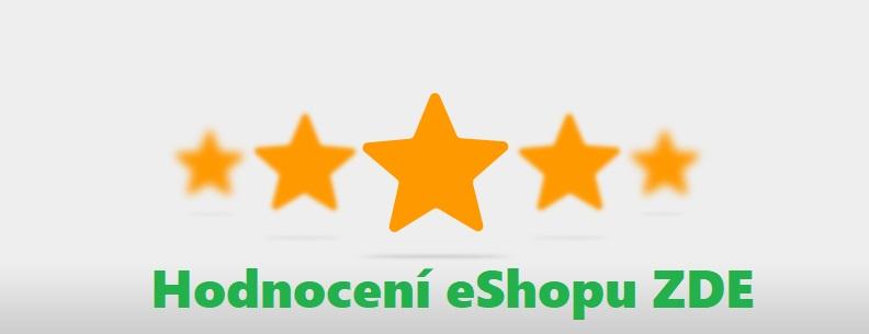Hodnocení eShopu a našich služeb