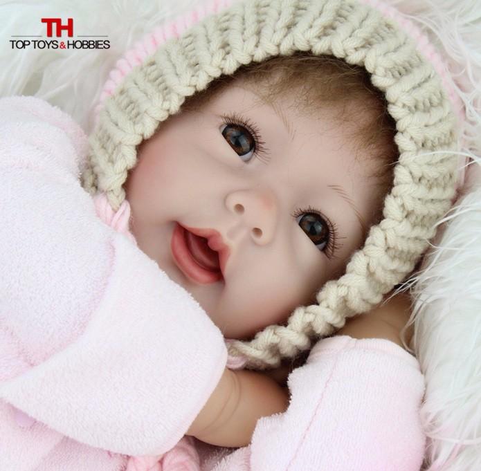 Panenky NEW BORN pro focení pletených modelů
