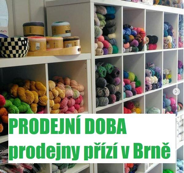Prodejna v Brně PROVOZNÍ DOBA