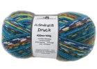 Příze Admiral print continious 2184magic Giftzwerg 75% vlna, 25% polyamid ponožková příze 100g