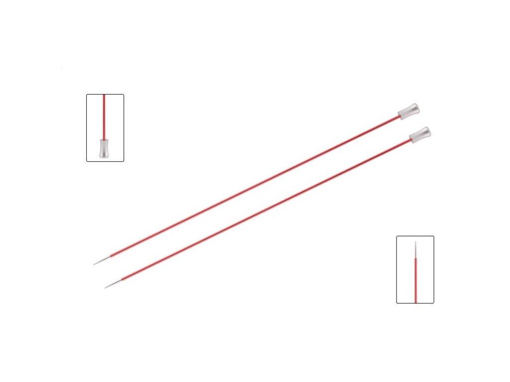 Knit Pro Zing jehlice dlouhé 35 cm, více velikostí