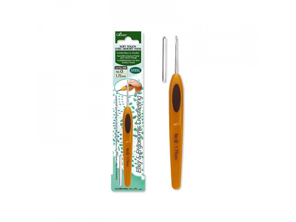 soft touch steel crochet hooks