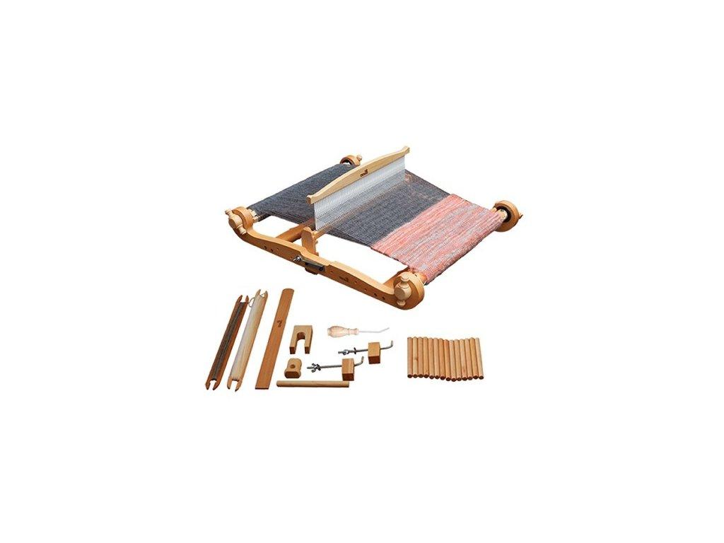Tkalcovský stav stolní Harp Forte s pevným listem, různé šířky