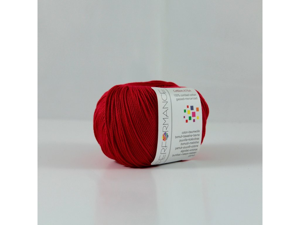 Příze PERFORMANCE yarn Cotton Xtra 100% bavlna 19, 50g