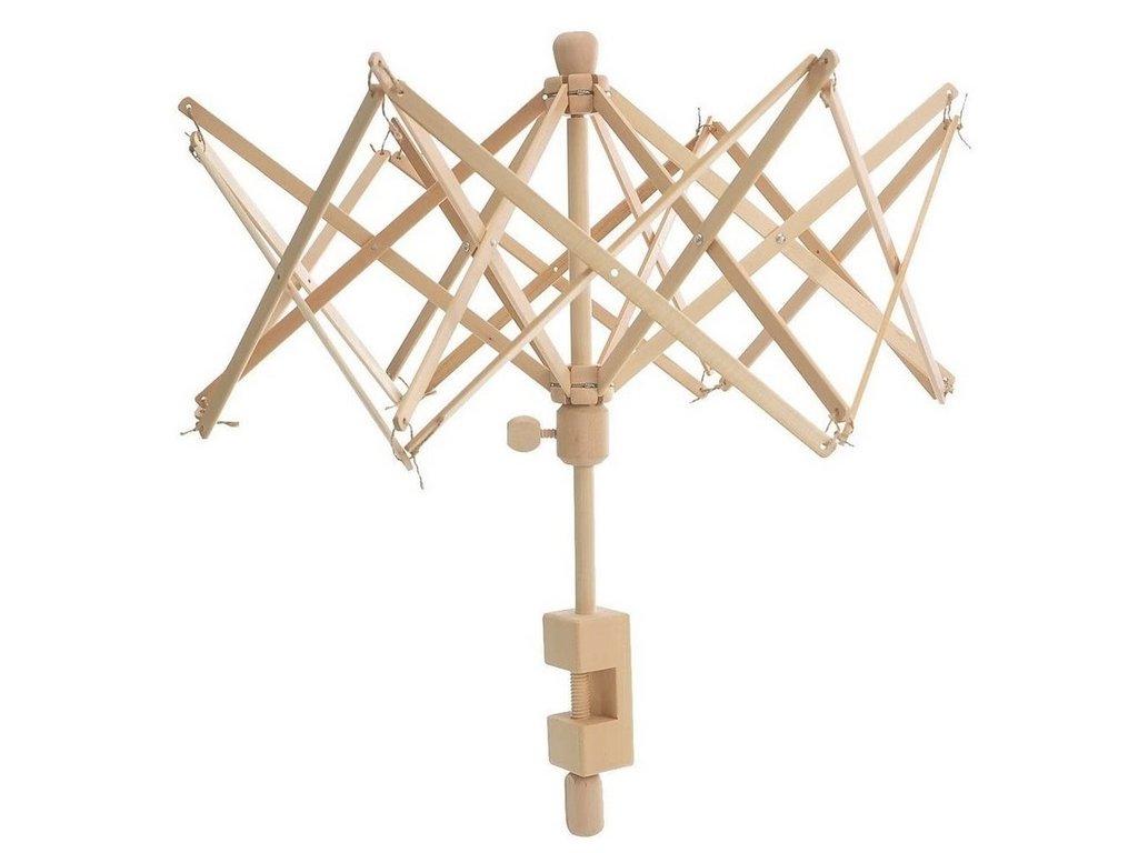 Deštník - převíječ příze dřevěný
